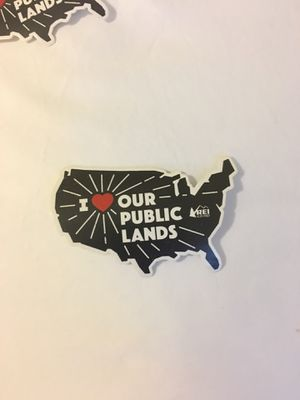 REI State Stickers. I heart our public lands NPS National parks coop for Sale in US