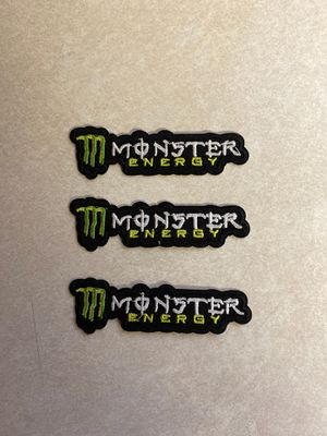 (3) Monster Iron-On Patches for Sale in Rockledge, FL