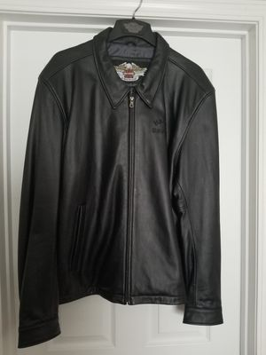 Harley Davidson 2xl Leather Jacket for Sale in Swansea, IL