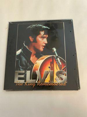 Brand new hardback Elvis Presley Collectible book with CD for Sale in Virginia Beach, VA