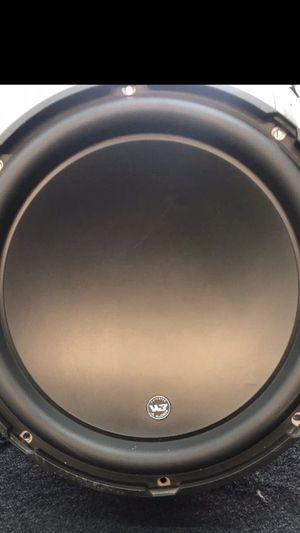 "JL Audio W3 12"" SPEAKER for Sale in Galena Park, TX"