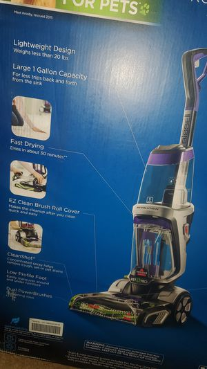 Bissell pro heat carpet cleaner for Sale in Anchorage, AK