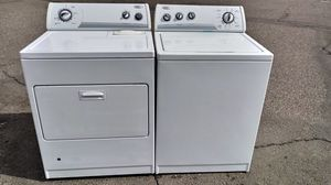 $$ WHIRLPOOL WASHER & GAS DRYER $$ for Sale in Victorville, CA