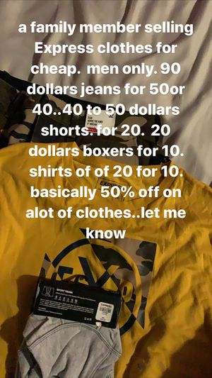 Express clothes . original for Sale in Los Angeles, CA