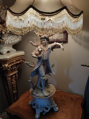 Vintage Capodimonte lamps for Sale in San Diego, CA