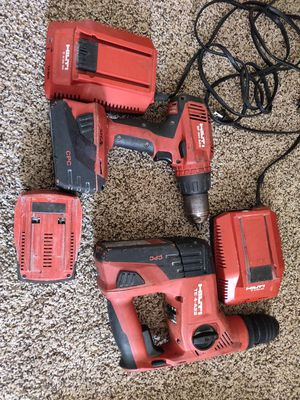 Hilti drill and hammer drill for Sale in Saratoga Springs, NY