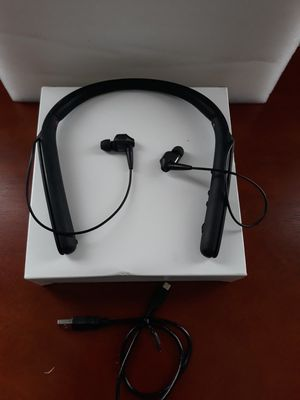 Sony WI1000X Premium Noise Cancelling Wireless Behind-Neck in Ear Headphones for Sale in Murphy, TX