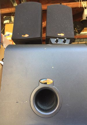 Klipsch speakers with subwoofer for Sale in Norridge, IL