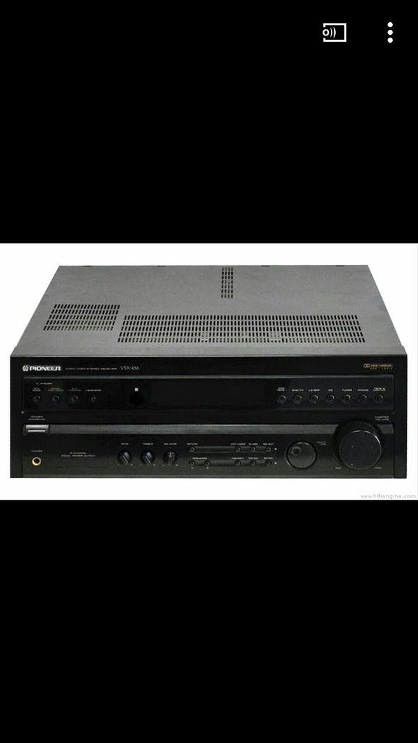 Pioneer Receiver/JBL Bookshelf speakers