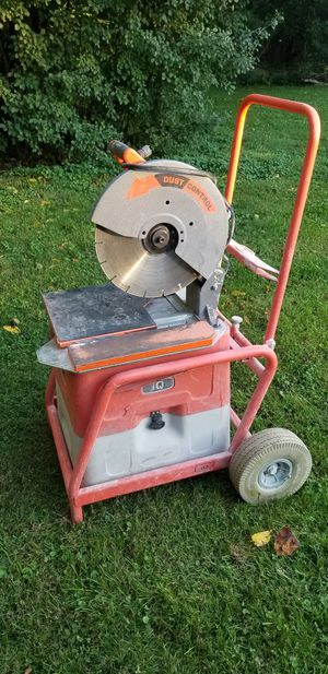 iQ Power Tools iQ360XR Masonry Chop Saw with Integrated Dust Collection for Sale in Chicago, IL