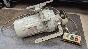 Working - Enduro sewing machine clutch motor for Sale in Huntersville, NC