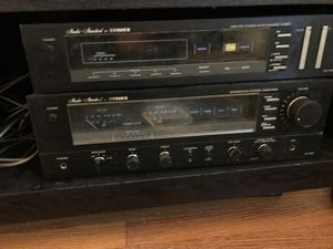 Stereo receiver Fisher hi output system with tuner and cassette player for Sale in Lincoln Park, MI