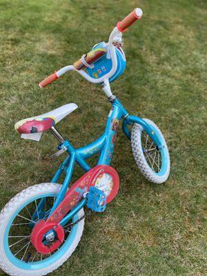 Huffy kids bike girls with training wheel for Sale in Bellevue, WA