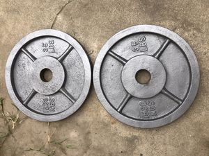 Olympic Weights 35lb for Sale in Fountain Valley, CA
