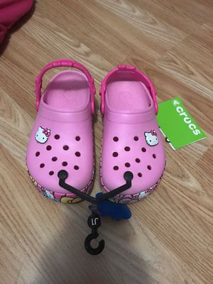 Crocs size 1 for Sale in Universal City, TX
