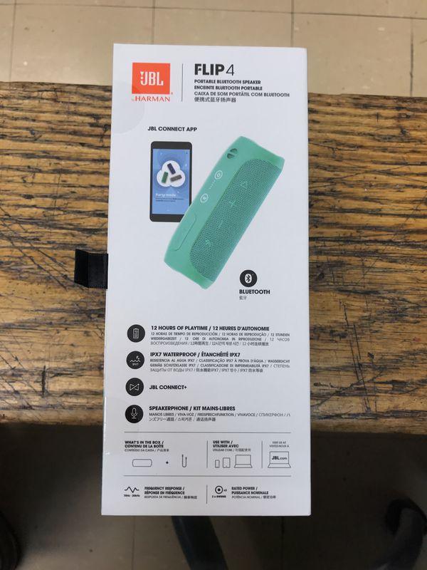 JBL Flip 4 Bluetooth water proof speaker Brand new for Sale in Bronx, NY -  OfferUp