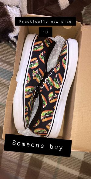 Vans size 10 for Sale in Berkshire, NY