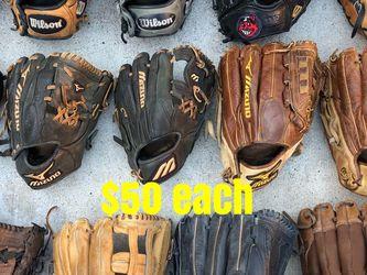 Baseball Gloves Rawlings Easton Mizuno Equipment Bats for Sale in Los Angeles,  CA