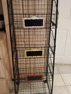 Book Shelf / Storage Shelves With Wheels for Sale in Bellflower,  CA