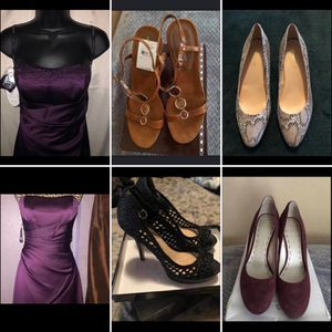 Dresses and shoes SEE DESCRIPTION FOR MORE DETAILS BELOW for Sale in Azusa, CA
