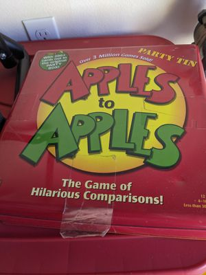 Apples to apples pat tin for Sale in Chula Vista, CA