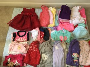 baby girl 6 months old clothes for Sale in Silver Spring, MD