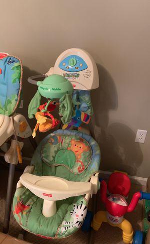 Fisher Price swinging chair for Sale in Herndon, VA