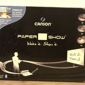 Canson Paper Show, Write It Kit Show It. New/sealed, Never Used. Bluetooth for Sale in Redondo Beach, CA