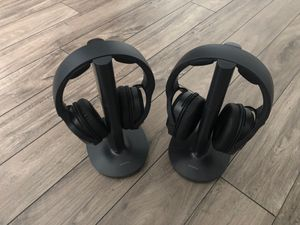 Sony Noise Cancelling Bluetooth Headphones for Sony TV for Sale in Indianapolis, IN