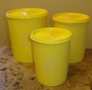 Tupperware Canister Storage Container with lids for Sale in Carson, CA