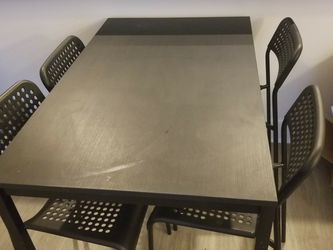 IKEA Table & 4 Chairs for Sale in Linthicum Heights,  MD