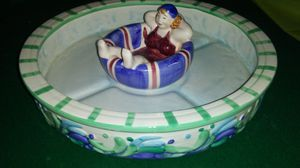 Chip & Dip. Pool. Beach. Patio. Party. Ceramic. for Sale in St. Louis, MO