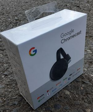 Google Chromecast 3rd Gen Brand New for Sale in Gresham, OR