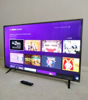 """TCL 43"""" Roku 4K Smart TV for Sale in Houston, TX"""