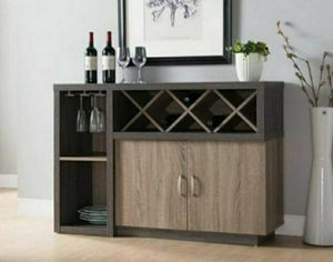 Contemporary Grey 6-shelf Dining Server for Sale in Ontario, CA