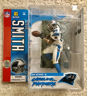 McFarlane Football Steve Smith Panthers Figure for Sale in Concord, CA