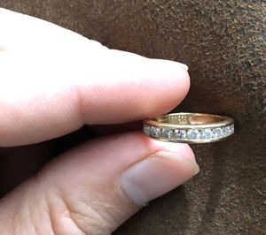 Women's Gold Ring with Diamonds for Sale in Palm City, FL