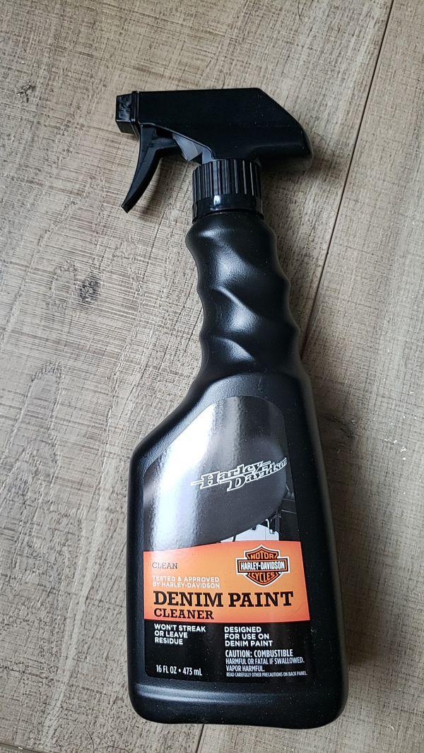 Harley Denim Paint Cleaner, new