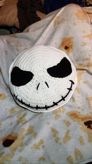 Crochet skeleton pillow for Sale in Santa Fe Springs, CA