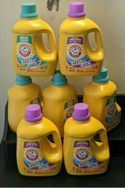 7 A&H Laundry Detergent for Sale in Everett,  WA