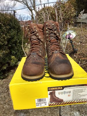 Carolina work boots for Sale in Clairton, PA