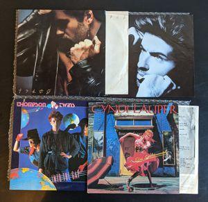 "3X12"" George Michael, Cyndi Lauper, Thompson Twins (Synth-Pop/NuWave) '80s vinyl lot for Sale in Huntington Beach, CA"