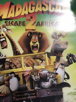Madagascar Escape 2 Africa Dvd Movie for Sale in Elma,  WA