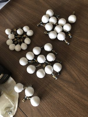 All ceramic round cabinet knobs for Sale in Rockford, IL