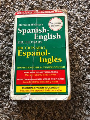 Spanish English dictionary for Sale in Aurora, CO