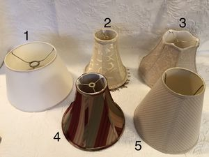Lamp shades for Sale in Woodbridge Township, NJ