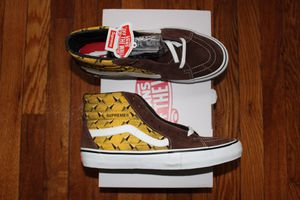 Supreme Vans Diamond Plate Size 9.5US for Sale in Nahant, MA