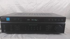 Sony STR-DE197 2-Channel Black Face Digital AM/FM Stereo Receiver for Sale in Cleveland, OH