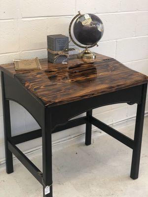 School Desk/ Burned Top / Vintage Desk for Sale in Burlington, NJ