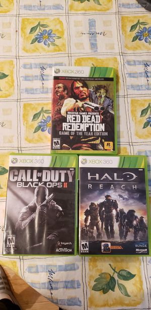 Xbox360 games for Sale in Woodinville, WA